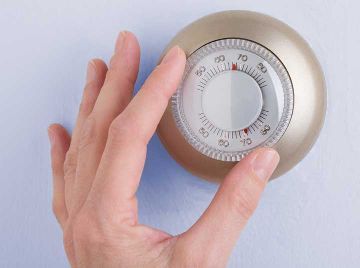 Home-Thermostat